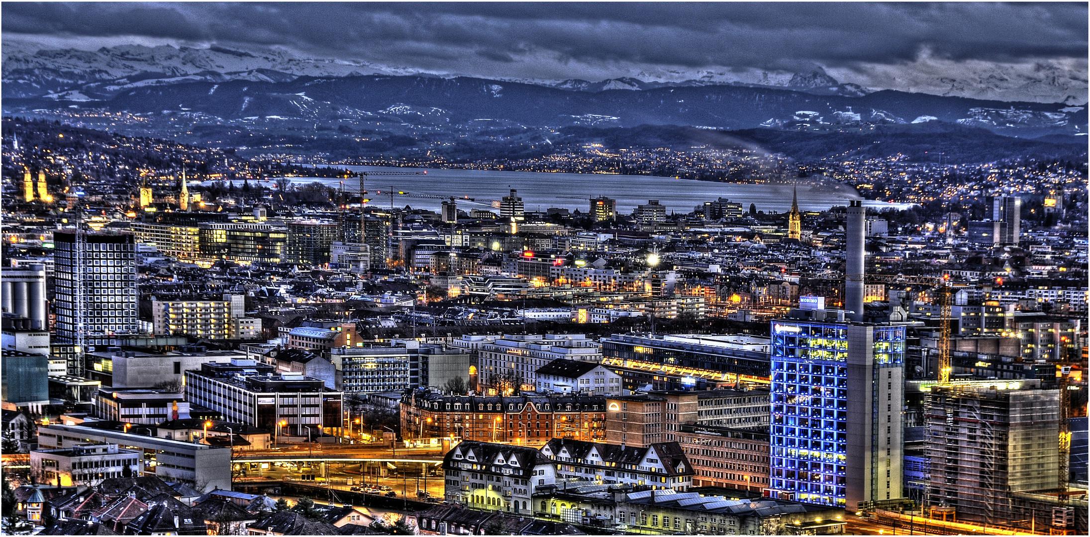 Zürich im HDR-Gewand...