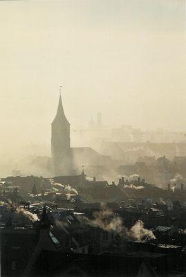 Zürich im Nebel