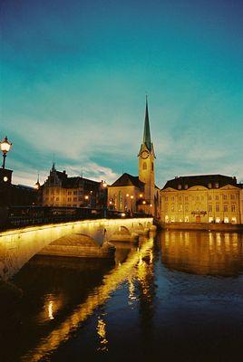 Zürich in der Nacht