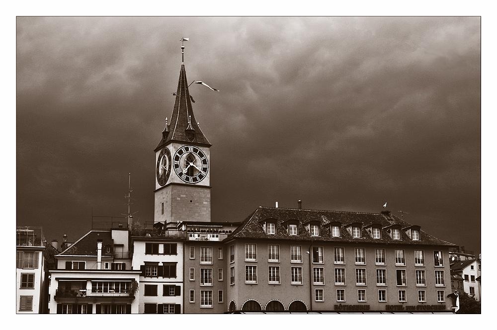 Zürich - Kirche St. Peter