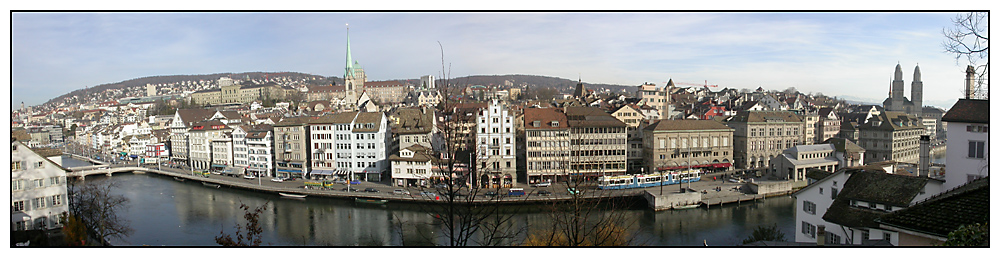 Zürich - Limmatquai
