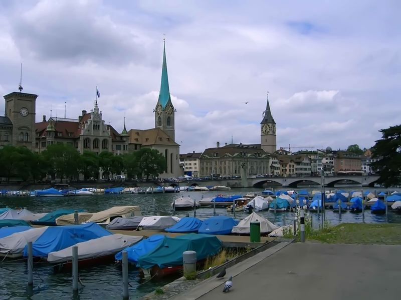 Zürich See-Blick im Zentrum