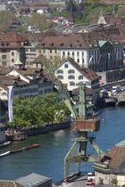 Zürich wird zur Hafenstadt