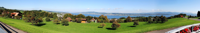 Zürichsee-Blick