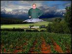 Zürnender Gott über der Georgfarm