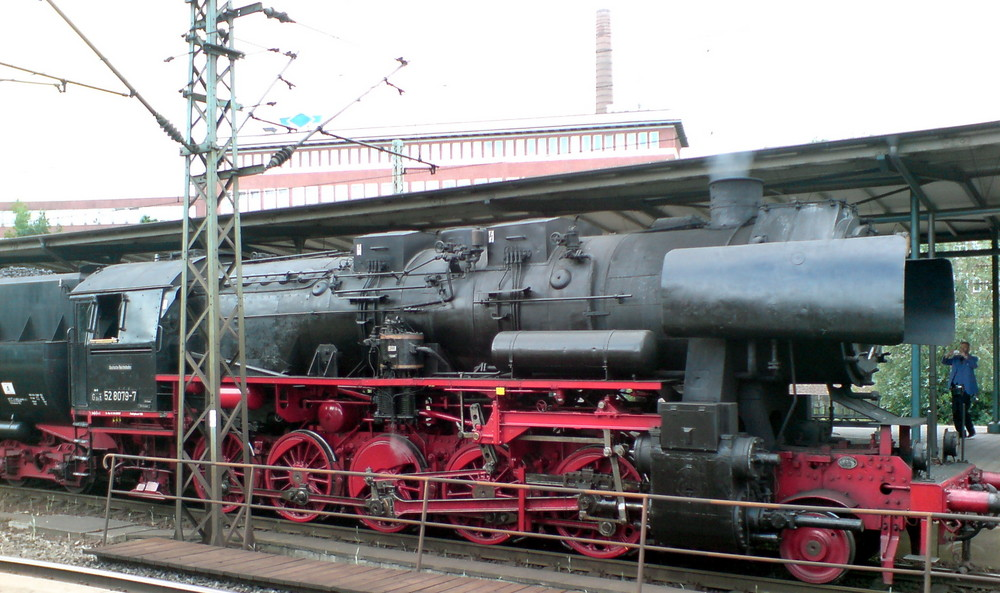 Zufallsbegnung am Harburger Bahnhof 2