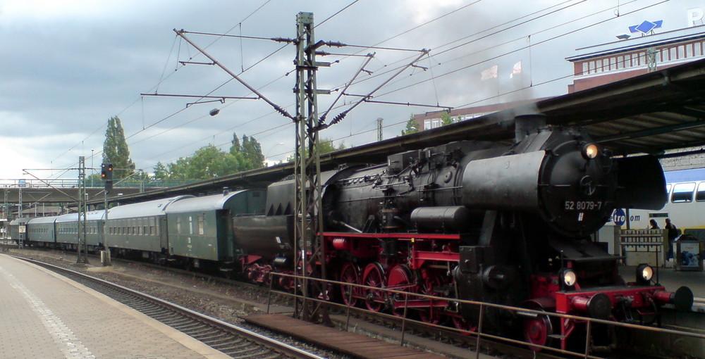 Zufallsbegnung am Harburger Bahnhof