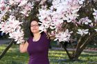 Zufrieden in den Magnolien