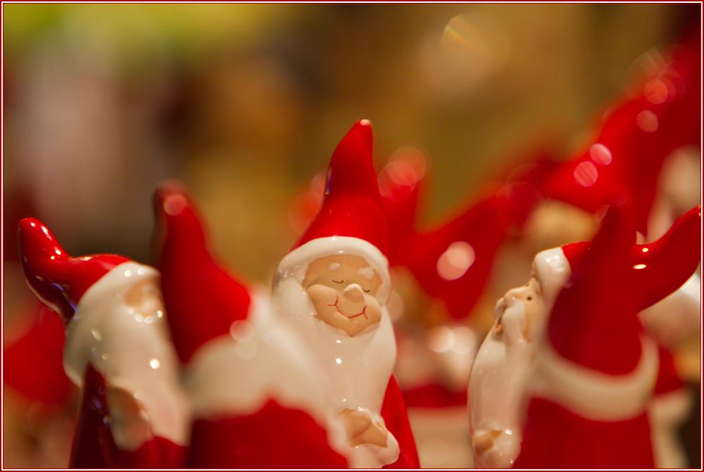 Zufriedene Weihnachtsmänner...........