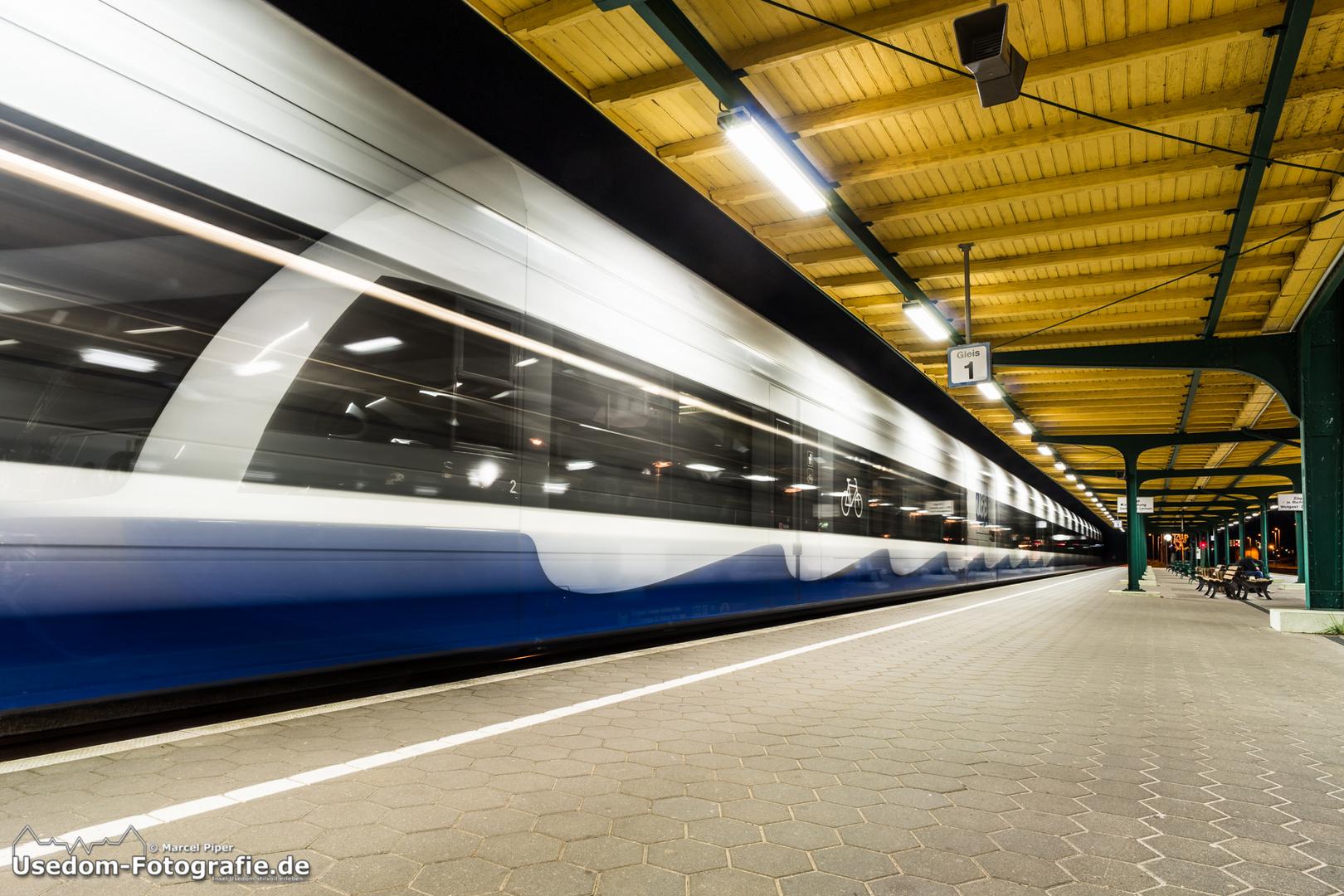 Zug der Geschwindigkeit 28.08.2013
