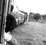 zug fahren, yangon, burma 2011