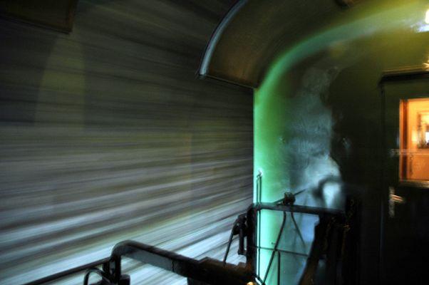 Zug im Tunnel