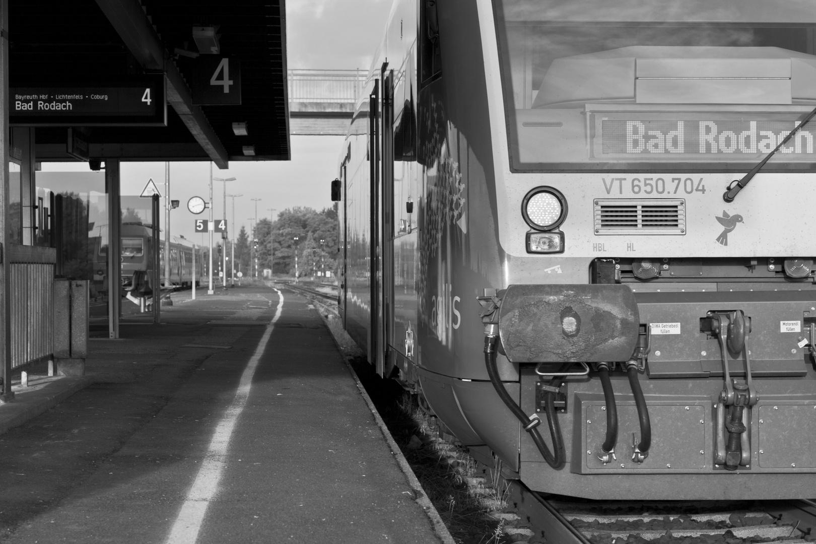 Zug nach Bad Rodach