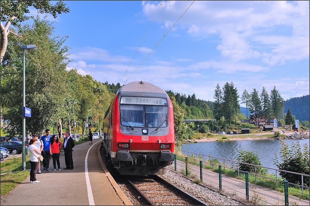 Zug nach Seebrugg