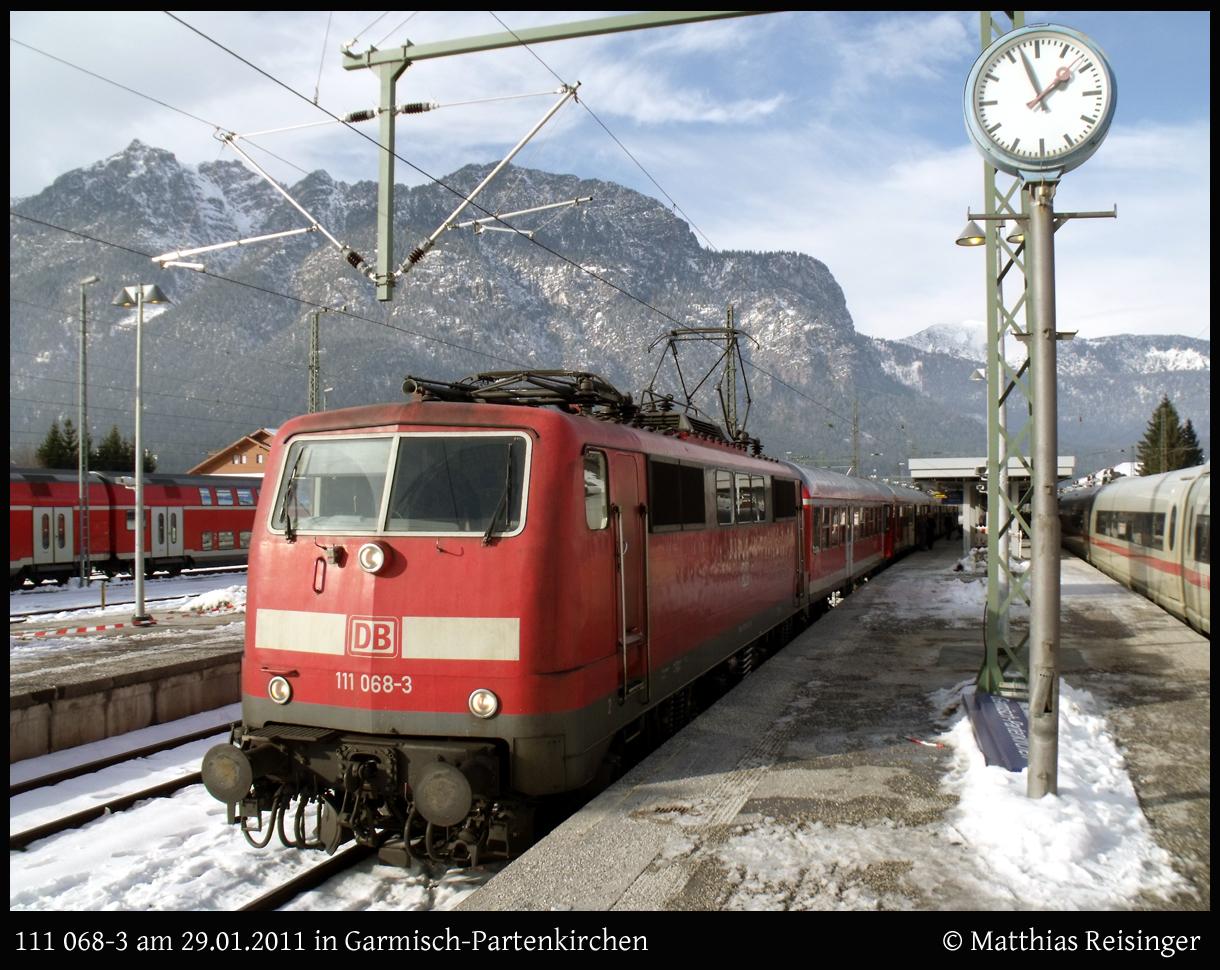 Zug und Berg