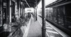 Zug von irgendwo