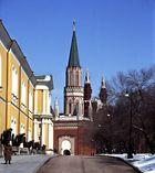 Zugang zum Ministerratsgebäude vom Kremlgelände