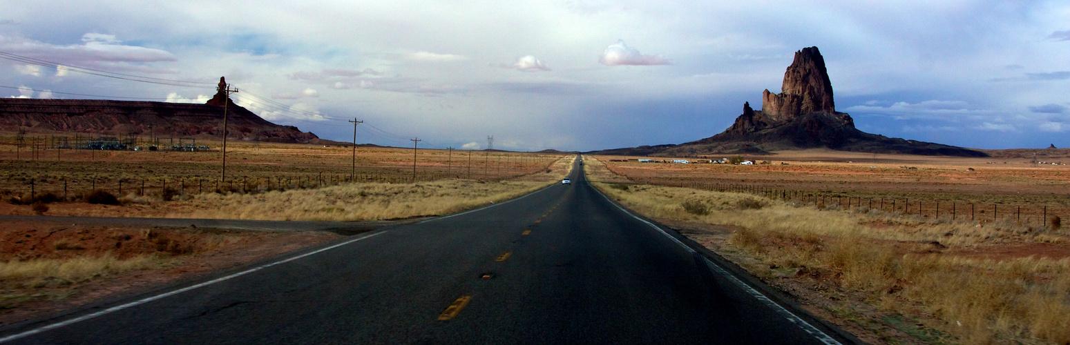 Zugang zum Monument Valley