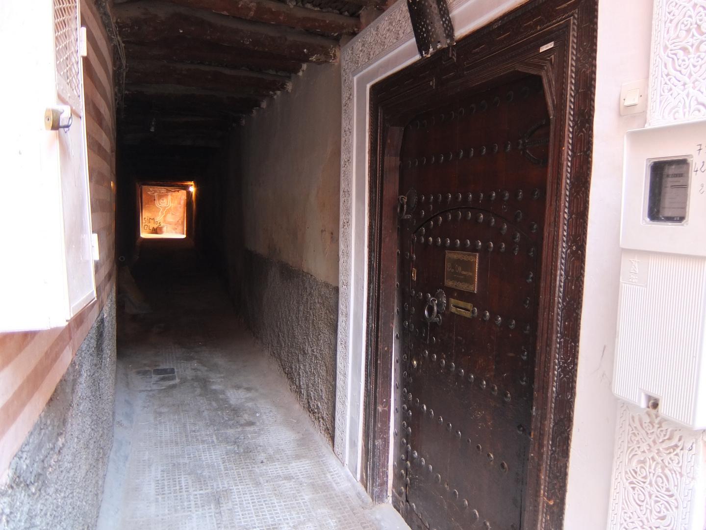 Zugang zum Riad Dar Mouassine in Marrakesch