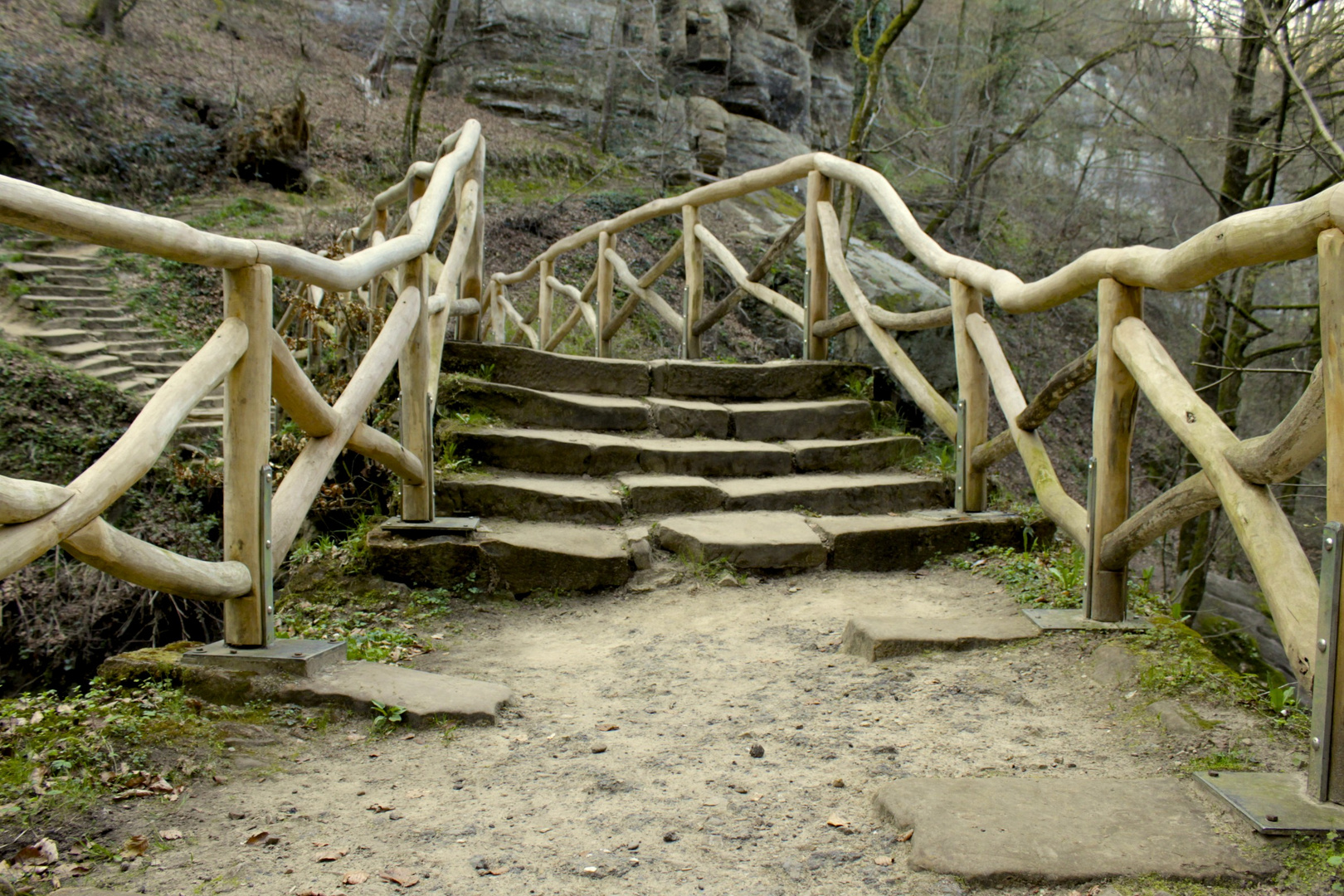 Zugang zur Brücke Schiessentümpel