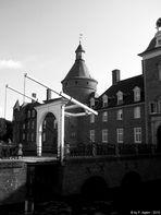 Zugbrücke der Wasserburg Anholt