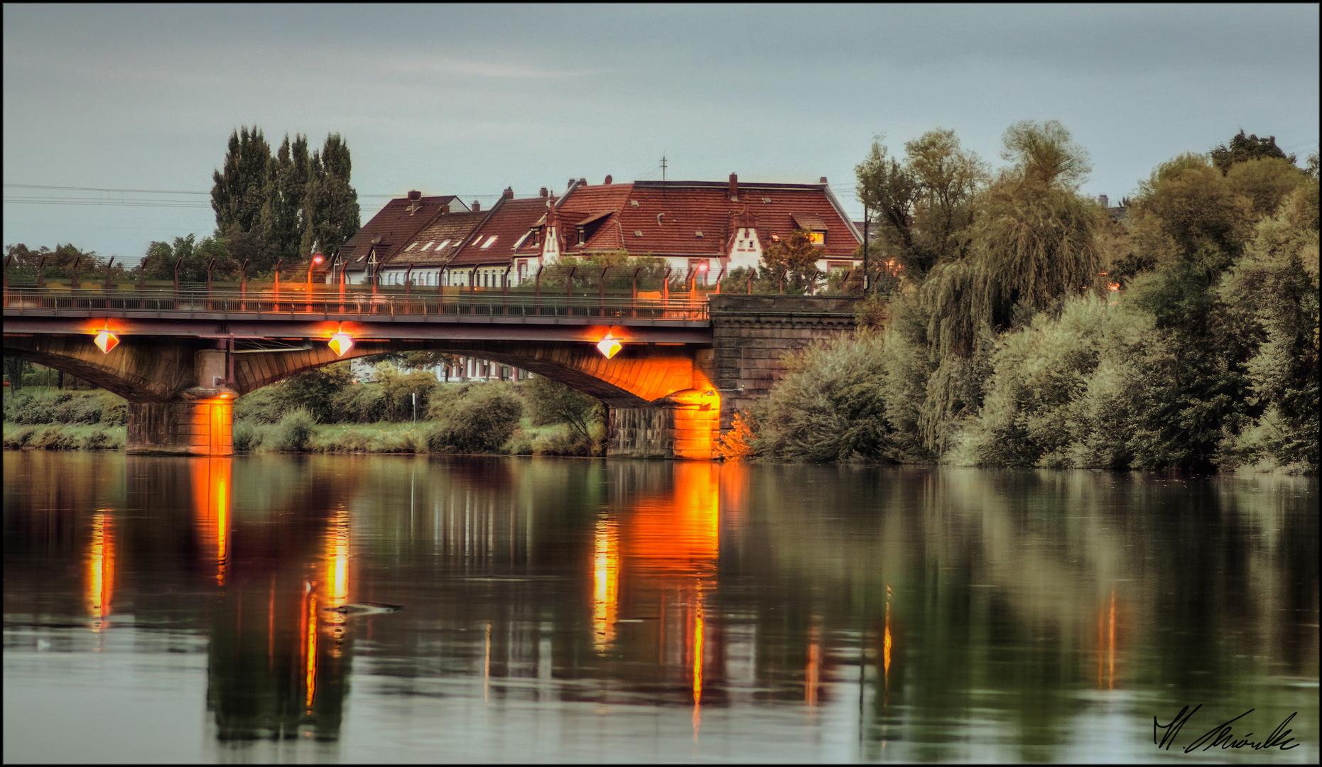Zugbrücke HDR
