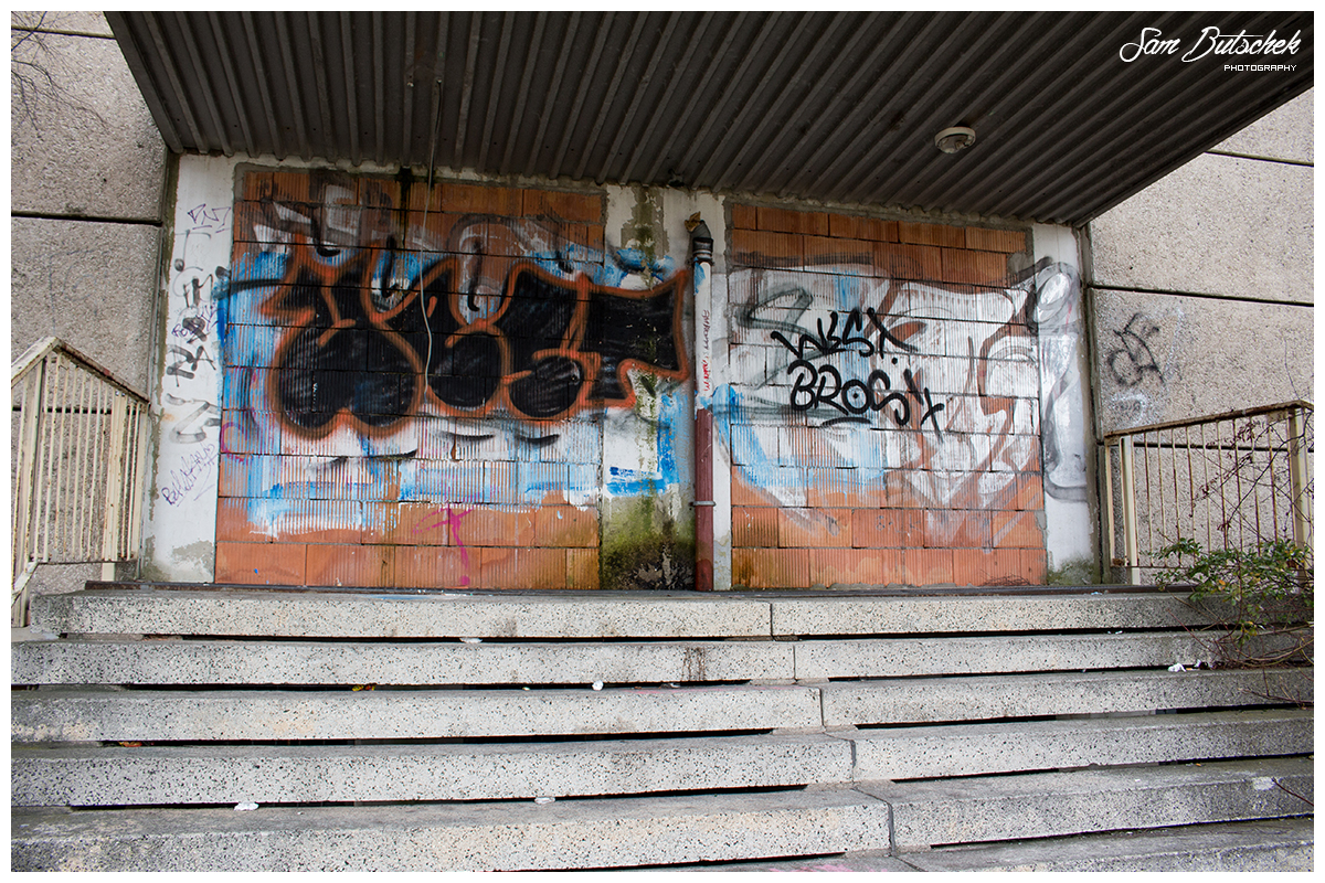 Zugemauerte Schule (Lost Place)