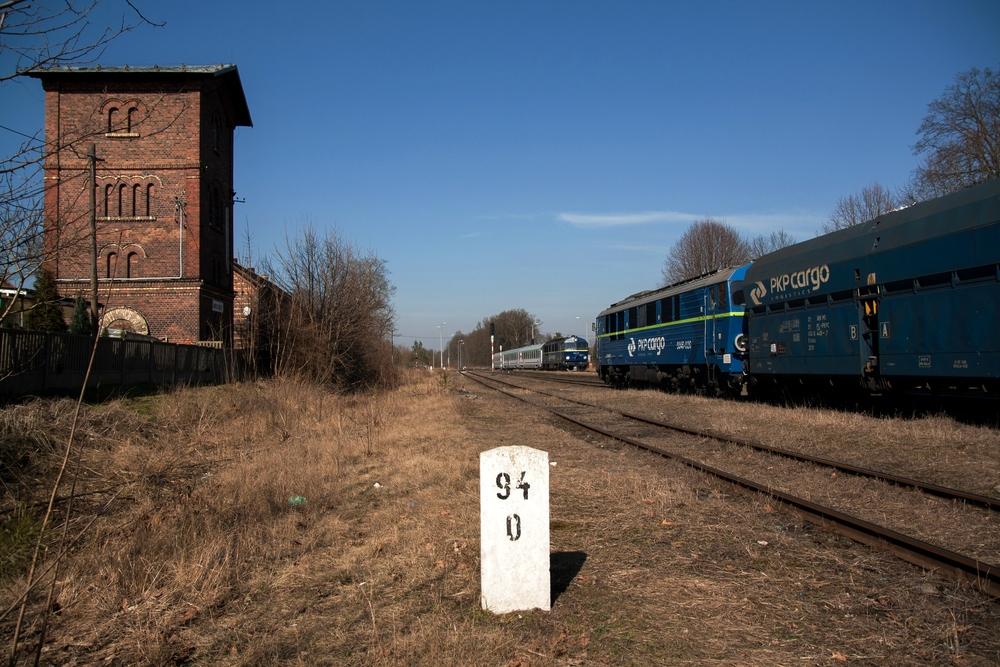 Zugkreuzung in Jankowa