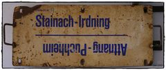 Zuglaufschild