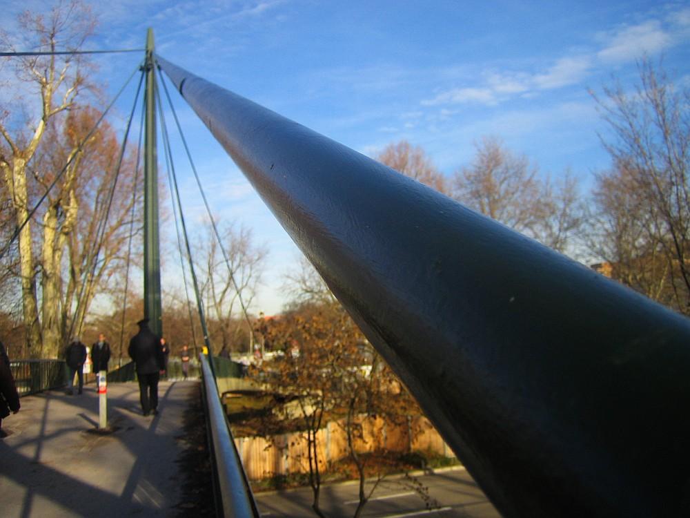 Zugseil einer Brücke