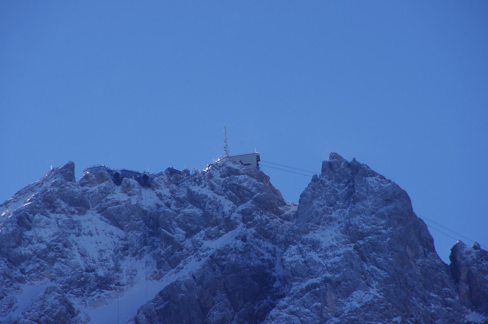 """Zugspitze ,,Bebauungsplan"""""""