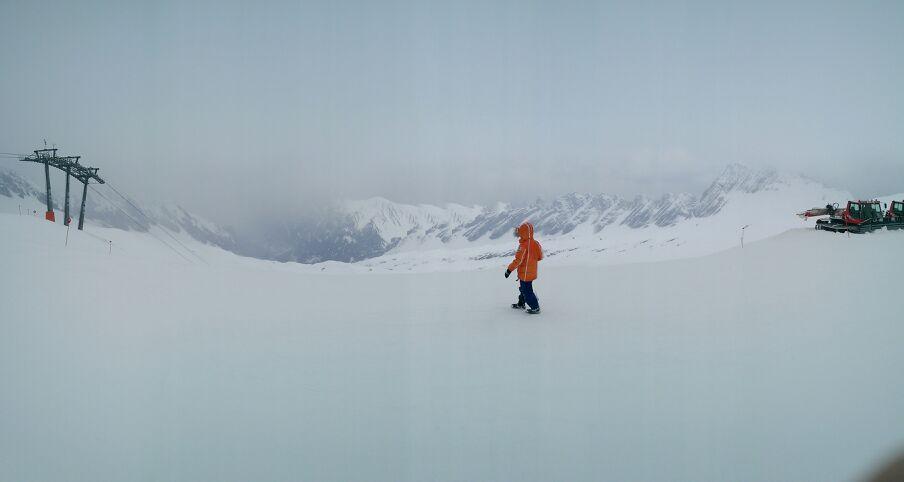 Zugspitze bedeckt