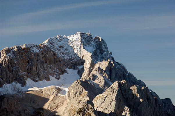 Zugspitze im Herbst