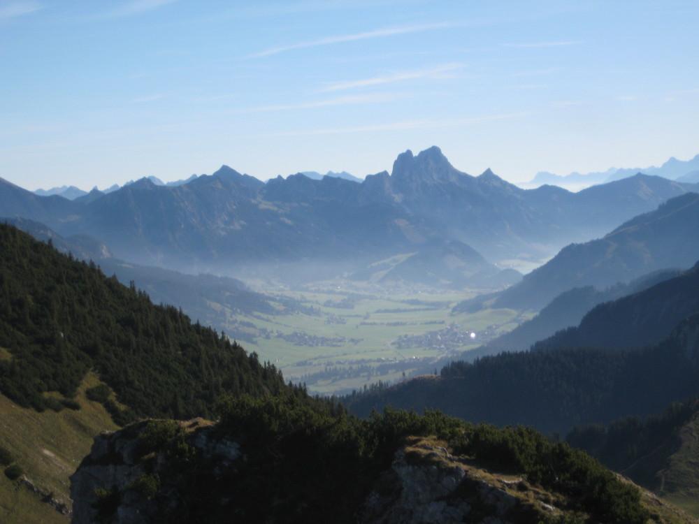 Zugspitze in der Ferne
