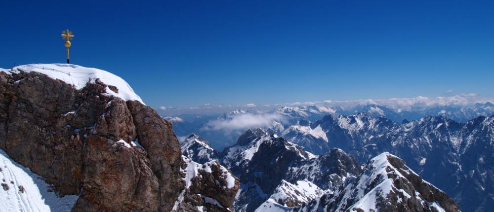 Zugspitze: le toit de l'Allemagne I