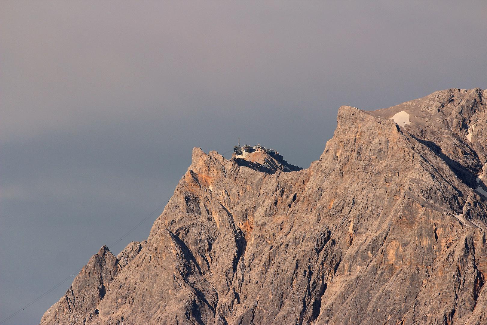 Zugspitze mit Zugspitzhaus