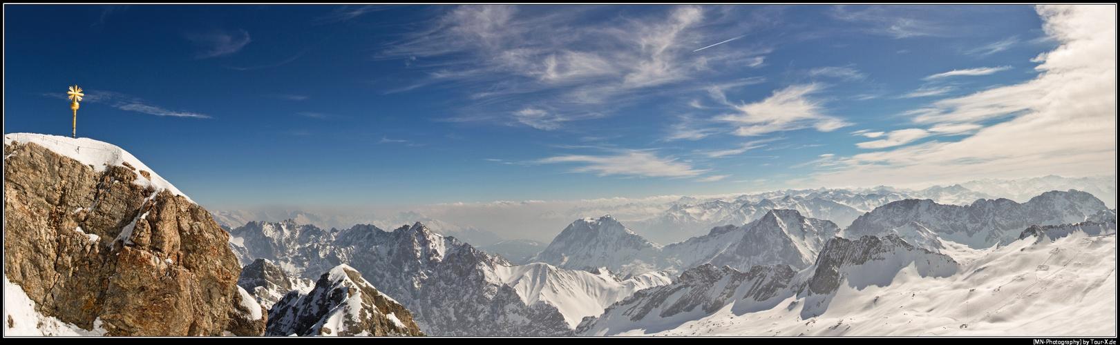 Zugspitze Panorama Zugspitze Panorama 201...