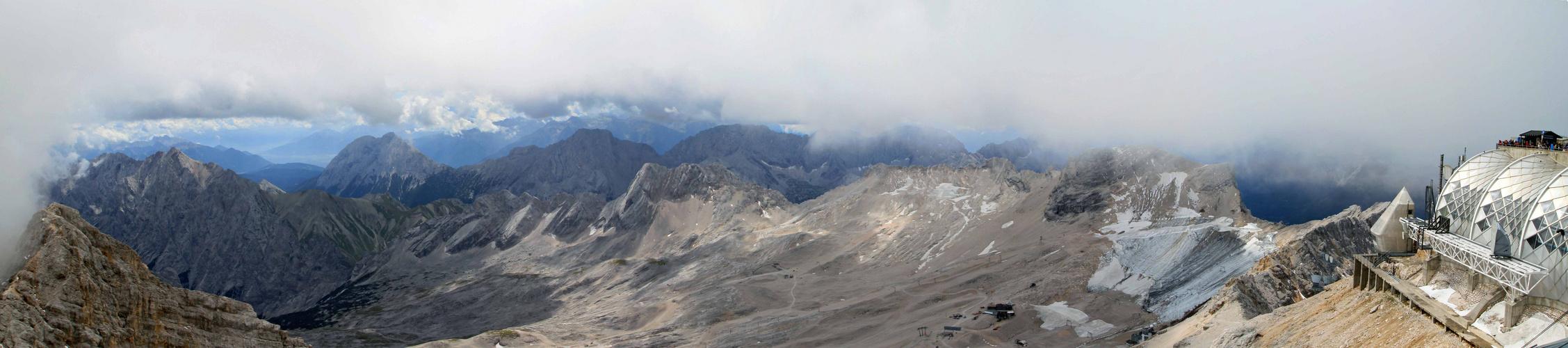 Zugspitzgletscher im Sommer