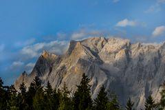 Zugspitzmassiv von Tiroler Seite