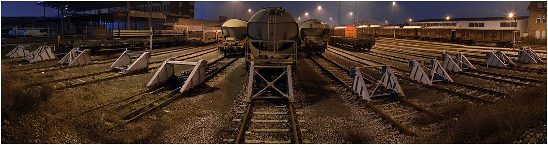 Zugverkehr - Neusser Hafen