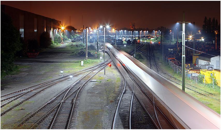 Zugverkehr - TKS - Duisburg