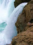 Zulauf zum Godafoss in Island