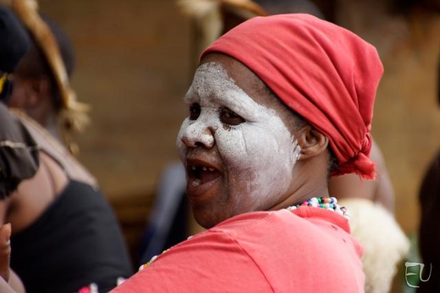 Zulu Frau in Afrika