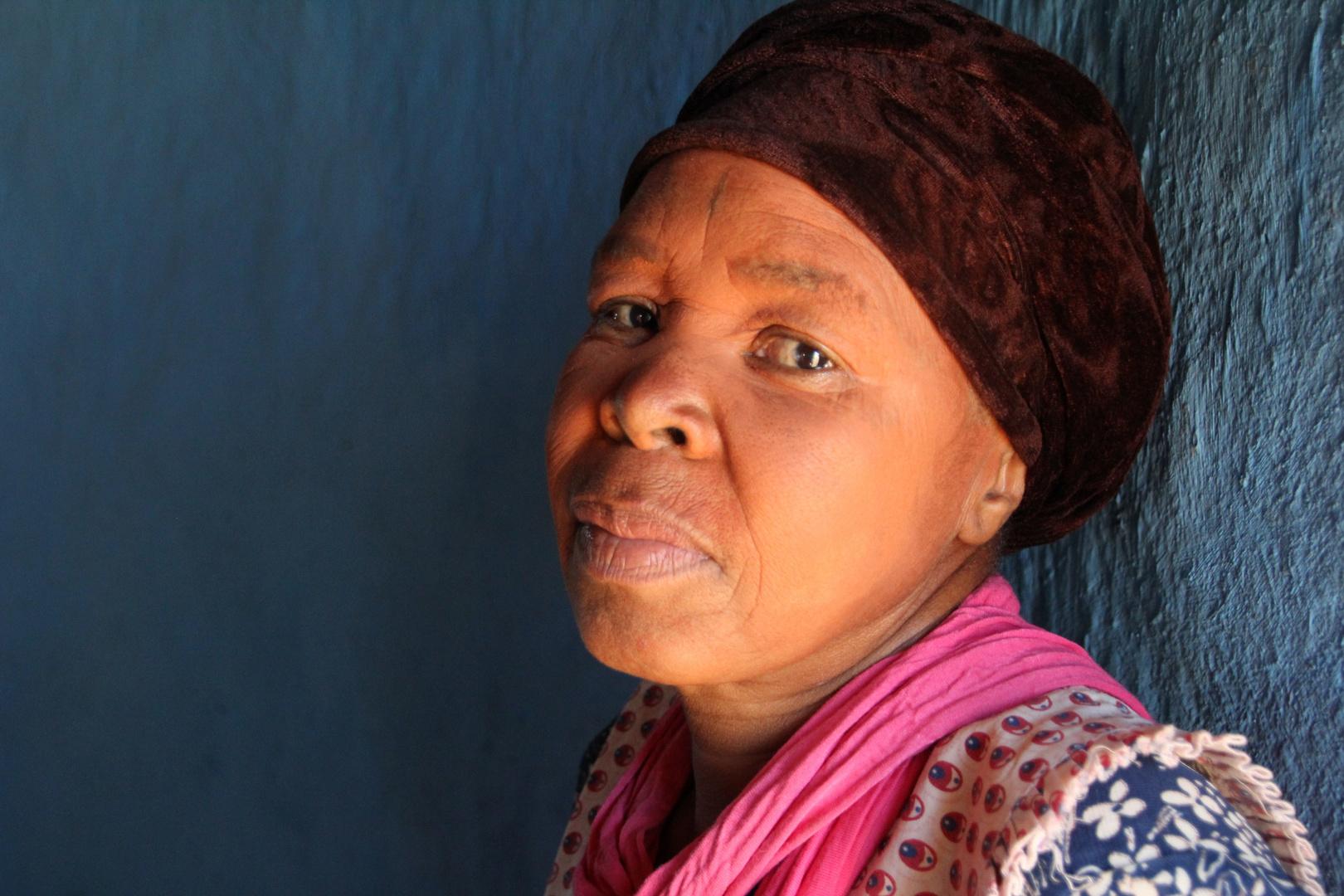 Zulu Frau in Süd Afrika