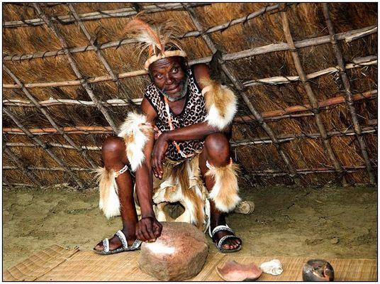 Zulu Medizinmann