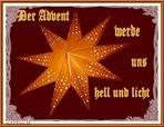 Zum 1. Advent  (mit Gedicht)