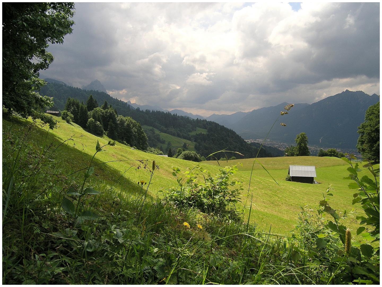 zum Eckbauer- über Garmisch 2