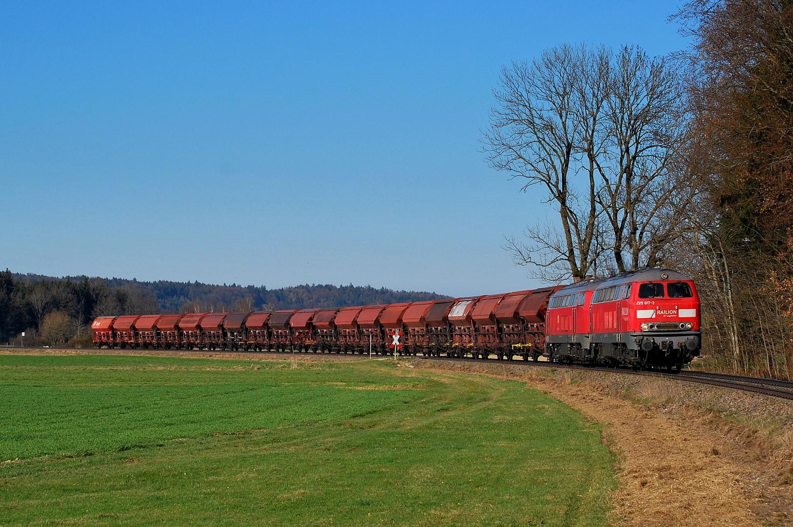 Zum Feierabend noch ein Zug