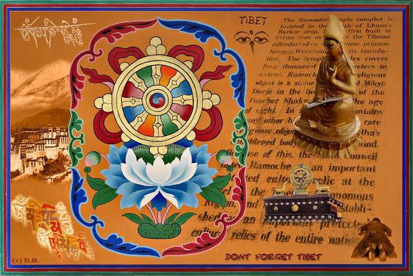 Zum Gedenken an den derzeitigen Aufstand in Lhasa