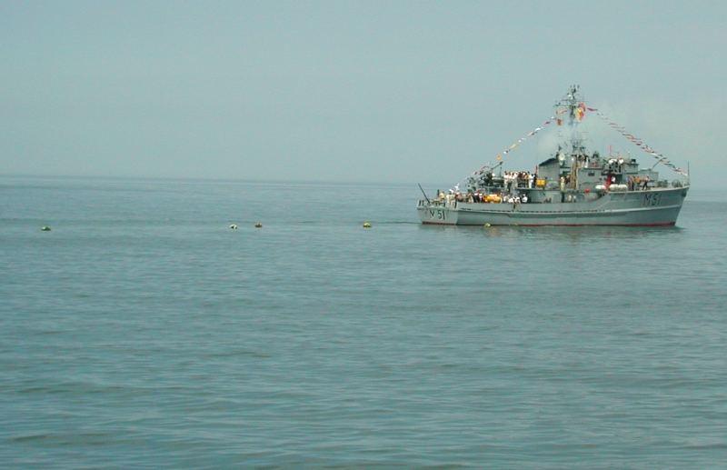 Zum Gedenken an die auf der See für immer gebliebenen Seeleute